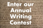 Enter the Scribes Valley Annual Writing Contest
